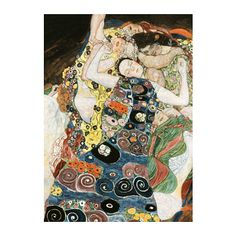 IKEA - BJÖRKSTA, Picture, Motif created by Gustav Klimt.You can personalise your home with artwork that expresses your style.The picture and frame come in separate packages.