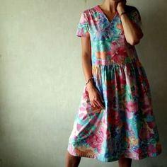 zosia z lasu (@zosiazlasu) • Zdjęcia i filmy na Instagramie Short Sleeve Dresses, Dresses With Sleeves, Stripes, Color, Handmade, Fashion, Moda, Hand Made, Sleeve Dresses