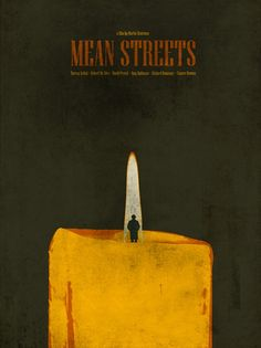 Mean Streets (1973) ~ Minimal Movie Poster by Ibraheem Youssef ~ Scorsese Series