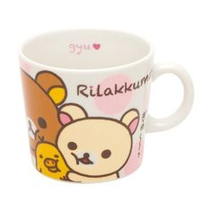 San-x Rilakkuma Mug I love Series:Amazon:Toys & Games (40 SGD) ❤ liked on Polyvore featuring filler