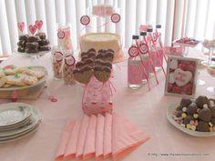 Valentine's Dessert Table