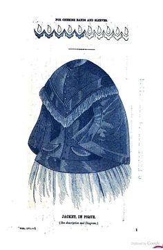 Godey's magazine 1858  Volume 56  Jacket in Pique