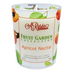 """Vonná sojová svíčka ARosée """"Apricot Nectar"""" s vůní meruňkového nektaru. Scented soy candle ARosée. Home decor. Domácí dekorace. www.arosee.com, http://arosee.com"""