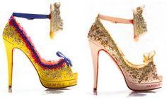 Marie Antoinette Shoe (Christian Louboutin) - Let them eat cake!