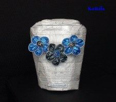 2016_parure_16.00 Napkin Rings, Creations, Floral, Flowers, Shopping, Jewelry, Decor, Recycled Products, Hand Made