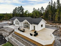England Houses, Barn House Plans, Minimalist House Design, Swedish House, Architecture Plan, House Layouts, House Front, Log Homes, House Rooms