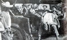 Pancho Villa ambushed