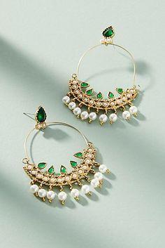 Crystalline Drop Earrings