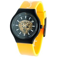 Ed Hardy Women's NE-YW Neo Yellow Watch by Ed Hardy -- Awesome products selected by Anna Churchill