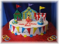 Birthday Circus Cakes | Recent Photos The Commons Getty Collection Galleries World Map App ...