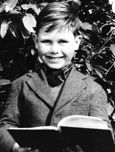 This young lad was born Reginald Kenneth Dwight. Elton John