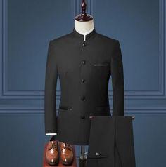 Tuxedo Wedding, Wedding Men, Wedding Suits, Wedding Groom, Mens Fashion Suits, Mens Suits, Terno Slim, Style Costume Homme, Dashiki For Men
