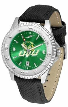 Utah Valley State Wolverines NCAA Mens Leather Anochrome Watch by SunTime. $79.95. The Competitor AnoChrome Watch With Poly/Leather Band is the hottest design in watches today! A functional rotating stainless steel bezel highlights the AnoChrome dial. Features a durable long lasting nylon/leather strap. The Anochrome dial increases the visual impact with a stunning radial reflection and gem like saturation of color. A calendar date function rounds out this best ...