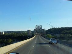 Crossing the Ohio river going into Kentucky
