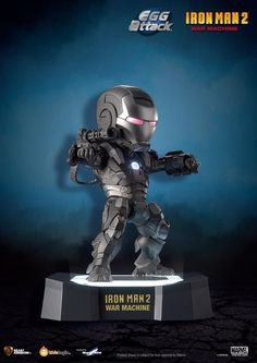 [KIDS LOGIC] Iron Man 2: War Machine Egg Attack EA-003
