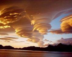Cloud swirls, Grytviken Georgia Island