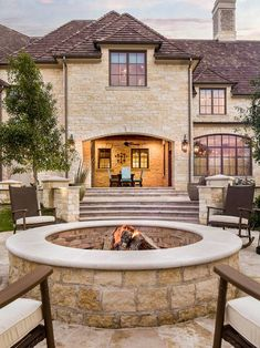 Traditional Outdoor Fire Pit Ideas Design, Pictures, Remodel, Decor and Ideas - page 9