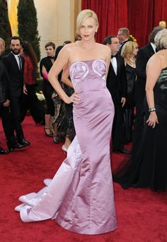 Oscars Red Carpet: The 15 Most Daring Dresses of All Time - Charlize Theron-Wmag