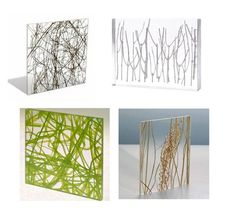 Botanical Embedded Resin #resina decora 1 Cabinet Replacement Idea