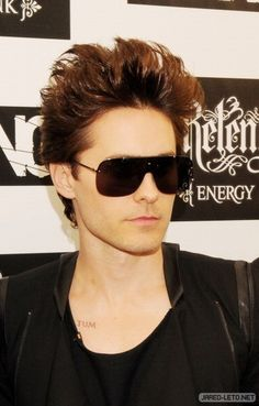 The Relentless Energy Drink Kerrang Awards, June Just Jared, Jared Leto, Man, Awards, Mens Sunglasses, Actors, London, Thirty Seconds, Black