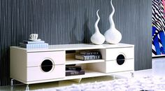 Image 1 Tv Unit, Floating Nightstand, High Gloss, Cleaning Wipes, Ivory, Living Room, Furniture, Home Decor, Image