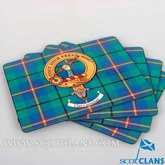 Carmichael Clan Crest Placemats