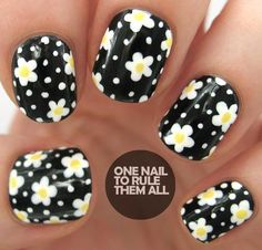 Decorate an accent nail. | 25 Eye-Catching Minimalist Nail Art Designs