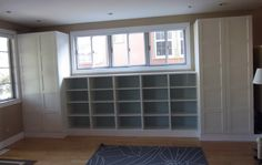 built in cabinets diy - Google Search