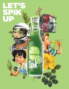 SPIK UP IS A NEW BRAND, WITH 3 DIFFERENT FLAVORS OF BEVERAGES IN THE MARKET, AND…