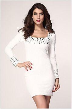 2015 Real Casual Dresses Plus Size Dresses S M for Pregnant Women New  Ladies White Mini Dress c1b35f8a9ba5