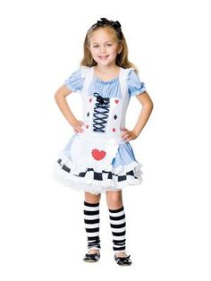 Alice in Wonderland costumes for kids in a sizes and style for everyone. Find child Alice in Wonderland costumes ranging from toddler to teen sizes.