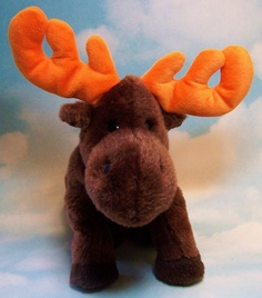 fd7cce23d6a TY Beanie Buddies Chocolate the Moose 1999 Retired~~So Cute~~
