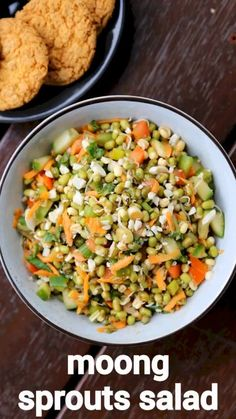 sprout salad recipe | how to make moong bean sprout salad – weight loss recipe with detailed photo and video recipe. a quick and easy healthy salad recipe made with freshly sprouted moong beans with finely chopped herbs and tomatoes. it is an ideal weight loss which is made by just mixing the ingredients without any cooking process involved. the salad can be perfectly shared as side to your lunch or dinner meal or can served as it is.