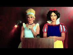 Once Upon a Crime episode 5 - Cinderella vs Snow White - YouTube.....love it!  LOL!!!