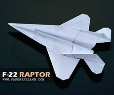 How to make a Jet Fighter paper airplane that FLIES - Best Origami paper plane e. How to make a Je Origami Paper Plane, Origami Airplane, Make A Paper Airplane, Origami Stars, Origami Owl, Oragami, Origami Cranes, Useful Origami, Origami Easy