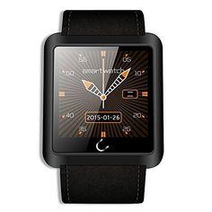 U10L Bluetooth Smart Watch Anti-lost Pedometer Life Waterproof Wristwatch for iPhone IOS Android Phone (Black) Tech http://www.amazon.com/dp/B00WO921KC/ref=cm_sw_r_pi_dp_EHJNvb0PVBJC9