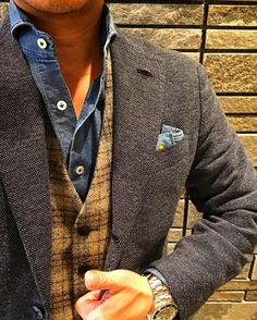 New Sprezzatura — rincondecaballeros: by. Mens Dress Outfits, Men Dress, Cool Outfits, Stylish Men, Men Casual, Look Man, Herren Outfit, Dapper Men, Sharp Dressed Man