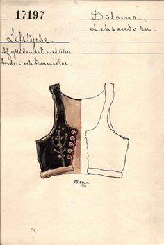 Swedish Fashion, Folk Fashion, Folk Costume, Costumes, Norwegian Clothing, Folk Embroidery, Nordic Style, Pattern Making, Folklore