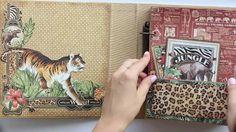 Safari Mini Album - Graphic45