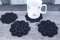 Etsy, Coasters, Linen Fabric
