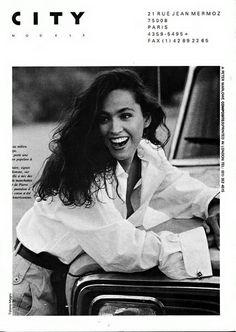 The Model Archives of Marlowe Press Cristina Cascardo Agency : City (Paris)   1990
