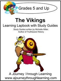 The Vikings Lapbook with Study Guide