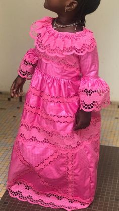 African Dresses For Kids, Latest African Fashion Dresses, African Print Dresses, African Print Fashion, African Wear, African Attire, Ankara Fashion, Africa Fashion, African Prints