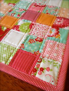 Scrumptious Table Runner by Quilting Whimsy