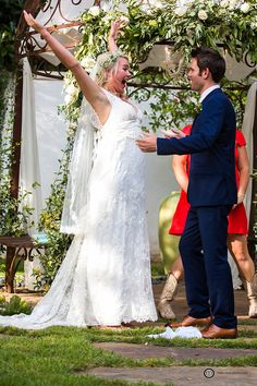 WE DID IT!! Hummingbird House; Austin Wedding Photography; Mike Reed Photo; Same Height Couples