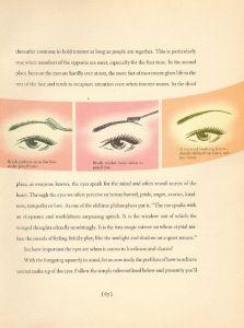 1940's eye makeup tutorial http://www.1940s-fashion.com/1940s-makeup-book/