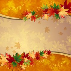 "Photo from album ""Осень"" on Yandex. Fall Wallpaper, Fabric Wallpaper, Autumn Art, Autumn Leaves, Fall Clip Art, Page Borders Design, Scrapbook Patterns, Thanksgiving Blessings, Minnie Png"