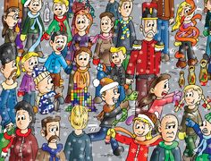 "It's snowing! A look and find book series: ""Find the Cutes"" - www.findthecutes.com (also available on Amazon.com)"