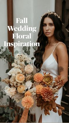 Bridal Bouquet Fall, Fall Wedding Bouquets, Fall Wedding Flowers, Fall Wedding Decorations, Fall Wedding Colors, Autumn Wedding, Floral Wedding, Bridal Bouquets, October Wedding
