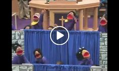 MUPPET MASS CHOIR: Sings 'The Blood Still Works'. Posted by Dell Smith on Facebook! Amen!
